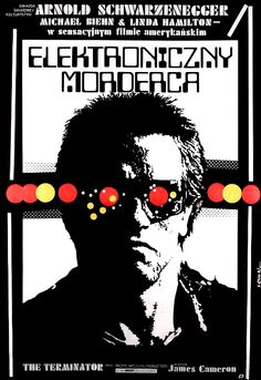 The Terminator movie poster (Poland. 1984)