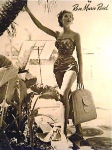 love the vintage swimsuit  #markeric
