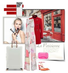 """""""paris 1"""" by ozlem-ozcanb ❤ liked on Polyvore featuring Sephora Collection, Kenzo, Ted Baker, Jimmy Choo, Givenchy, parisfashionweek and Packandgo"""