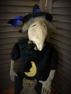 Halloween Witches by Susan Smith on Etsy#handmade Halloween#here come the witches#Boo