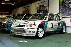 Peugeot 205 Turbo 16 - rally group b
