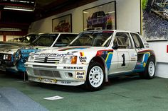 Peugeot 205 Turbo 16 - rally group b