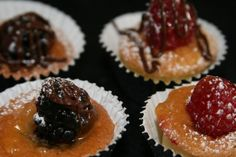 Mini tarts by Sugartiers Bakery