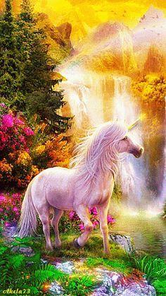 Decent Image Scraps: Unicorn Animation click see motion. also see more animations below: Decent Image Scraps: Unicorn Animation Unicorn And Fairies, Unicorn Fantasy, Unicorn Art, Magical Unicorn, White Unicorn, Beautiful Unicorn, Beautiful Gif, Magical Creatures, Fantasy Creatures