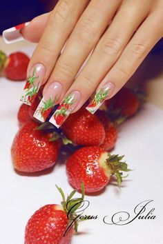 I'm not sure about the strawberry design but still pretty none the less