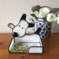 Glass Jewelry Box, Business Card Holders, Stained Glass, Snoopy, Cards, Character, Crystals, Maps, Stained Glass Panels