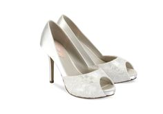 Pink by Paradox London Bridal Shoes. An ultra feminine lace wedding shoe, Fancy by Pink offers lace, a 3 Wide Fit Wedding Shoes, Blush Pink Wedding Shoes, Lace Bridal Shoes, Bride Shoes, Zapatos Peep Toe, Peep Toe Shoes, Peep Toe Platform, Platform Shoes, Bridal Shoes Online