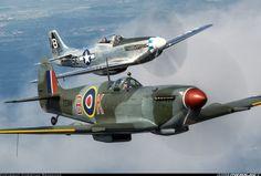 Spitfire & P-51