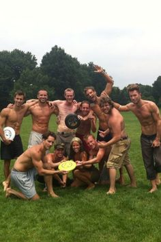 Ultimate Frisbee - some girls wonder why I love this sport haha.the guys on my team don't look like that