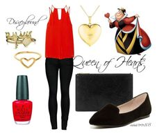 """""""Queen of Hearts Disneybound"""" by misscoco108 on Polyvore"""