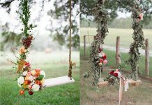 30 Wedding Reception Décor Swing Ideas