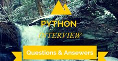 100 Python Interview Questions & Answers PDF : Free Download  | FromDev