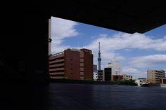 Edo-Tokyo Museum (江戸東京博物館) /   Architect by Kiyonori Kikutake (菊竹清訓)