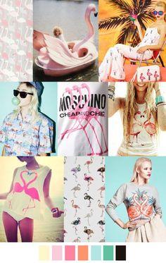 THE FABULOUS FLAMINGO TREND - La tendencia Fabuloso Flamingo está en pleno apogeo, tal y como se había predicho en reportes anteriores de tendencias.