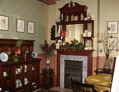 1890 Room  Geffrye Museum - Christmas Past