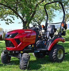 Yanmar Tractor, Lawn Mower, Outdoor Power Equipment, Tractors, Top Hats, Lawn Edger, Grass Cutter, Garden Tools