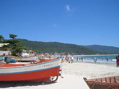 Florianópolis, Santa Catarina, Brazil. Otherwise known as the Ilha da Magia, it is an island with 46 beaches connected to the land by a bridge. I lived here for most of 2009 in Lagoa da Conceição and it is somewhere I could stay forever.