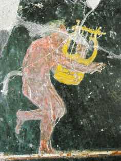 """Playing Satyr"" - from Pompeii - Naples Archaeological Museum 