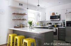 From Drab and Dated to Classic and Fresh: One Kitchen's Makeover Journey