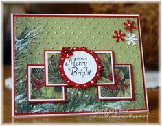 Joyfully Made Designs: Christmas One Sheet Wonder 8 x 8 Homemade Christmas Cards, Christmas Cards To Make, Xmas Cards, Homemade Cards, Merry Christmas, Holiday Cards, One Sheet Wonder, Christmas Scrapbook, Winter Cards