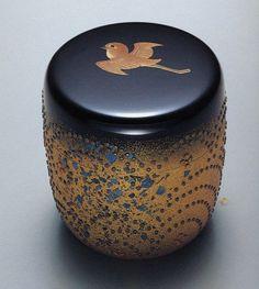 Natsume, Tea Container, Japanese Tea Ceremony, Art Japonais, Teapots And Cups, Tea Caddy, Tea Art, Japanese Pottery, Japan Art