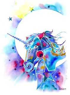 Unicorn Magic Painting