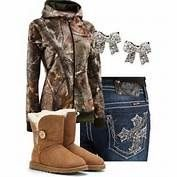 Winter time Camo clothes and boots