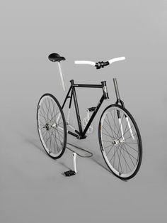 ♂ eco gentleman Velo by Emmanuel Pierrot. Bicycle Art, Bicycle Design, Bike Poster, Bike Photography, Fixed Gear Bike, Bike Chain, Bike Style, Cycling Bikes, Cool Bikes
