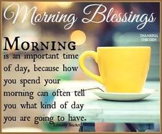 Morning Blessings Pictures, Photos, and Images for Facebook, Tumblr, Pinterest, and Twitter
