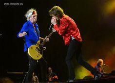 Mick Jagger & Keith Richards in México City - 17.03.2016
