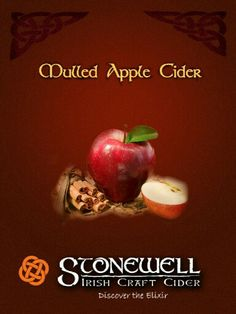 Time for Irish mulled cider, anytime this winter.