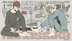 Manga Boy, Manga Anime, Anime Art, Anime Love, Anime Guys, Rap Battle, Bishounen, Couple Art, Drawing Reference