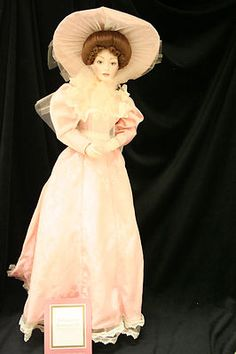 Franklin Mint Doll - Gibson Girl Bridesmaid