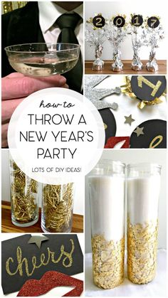 Below are the Diy New Years Eve Party Decor Ideas. This article about Diy New Years Eve Party Decor Ideas … New Year's Eve Party Themes, New Years Eve Decorations, Ideas Party, Diy New Years Party Decorations, New Years Eve Party Ideas For Adults, Bunco Themes, Nye Ideas, Holiday Decorations, New Year's Eve Celebrations