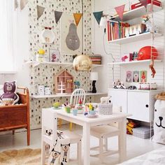 A fun and playful kids room