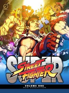 Super Street Fighter Volume 1: New Generation by Ken Siu-Chong, http://www.amazon.com/dp/1926778545/ref=cm_sw_r_pi_dp_brdcrb0BY189P