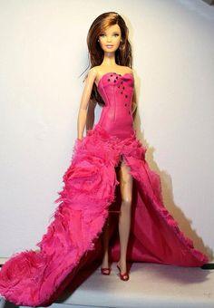 Barbie Tim Gunn Vestido Fucsia | Flickr - Photo Sharing!