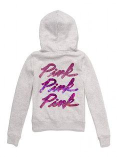 Victoria's Secret PINK Bling Perfect Zip Hoodie #VictoriasSecret http://www.victoriassecret.com/pink/bling-it-on/bling-perfect-zip-hoodie-victorias-secret-pink?ProductID=88445=OLS?cm_mmc=pinterest-_-product-_-x-_-x