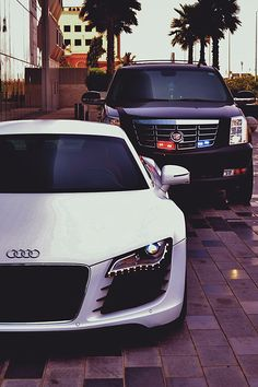 EeE Kurt • auerr: His Audi R8 & Cadillac Escalade. You can...