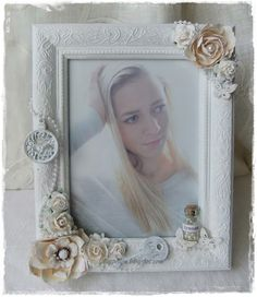 PHOTOS SHOWN Altered frame with my beautiful grandaughter♥