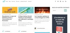 Blog Oink My God!; Social Media Marketing, Marketing de Contenidos, Blogging, SEO, Growth Hacking.