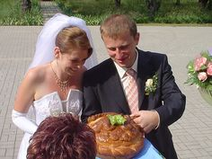 Northern European tradition of breaking bread together during the ceremony