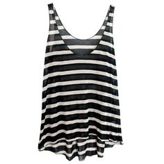 enza costa stripe tank