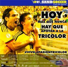 Hoy más que nunca hay que apoyar a la tricolor #vivelapasiontricolor @CampanarioCC @CosmocentroCali @cclaherradura