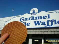 Caramel Cookie Waffles ~ Billings MT