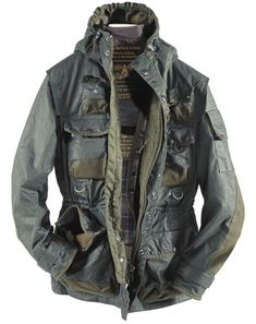 BARBOUR X TOKIHITO YOSHIDA, MILITARY JACKET AW10