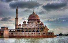 Putrajaya Mosque, Malaysia.