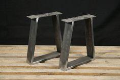 Patas de banco de acero patas de mesa patas metálicas Plaza