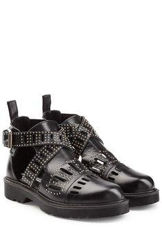 #McQ #Alexander #McQüen #Ankle #Boots #Dalston aus #Leder mit #Cut, #Outs und…