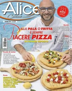 """Find magazines, catalogs and publications about """"Alice cucina and discover more great content on issuu. Empanadas, Food N, Food And Drink, Pizza Company, International Recipes, Alice, Biscotti, Italian Recipes, Make It Simple"""